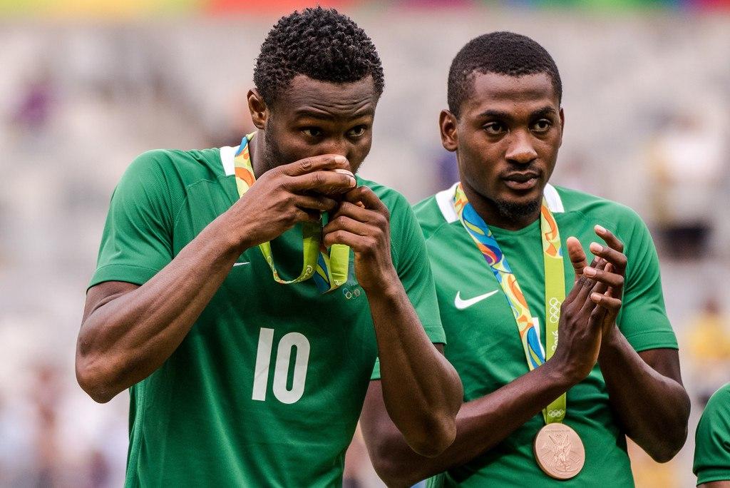 Футбольная сборная Нигерии впервый раз выиграла бронзу Олимпиады