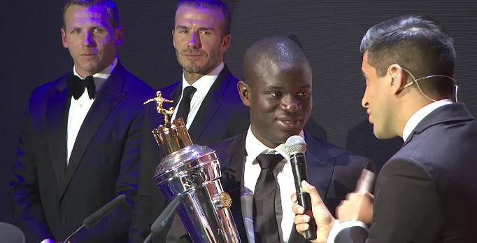 PFA признала Канте игроком года впремьер-лиге
