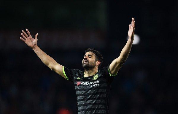 Диего Коста невернётся врасположение «Челси»