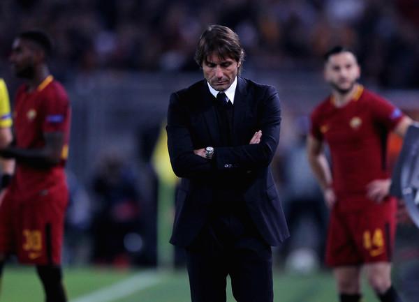 Конте: игра «Челси» вовтором тайме разочаровала, «Рома» проявила больше желания