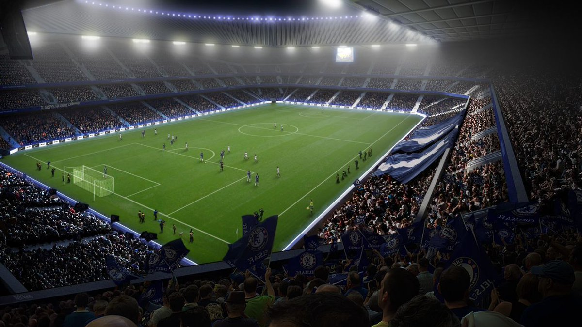 Челси реконструирует Стэмфорд Бридж к 2024-ому