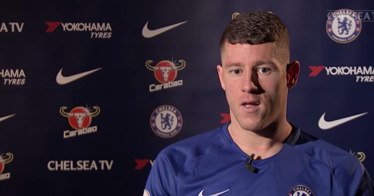 Интервью Росса Баркли для телеканала Chelsea TV