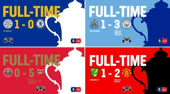 «Челси» проиграл «Лестеру» и вылетел из Кубка Англии: официальный твиттер Федерации